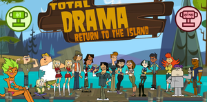 Total Drama Return To The Island Title Card by TDThomasFan725
