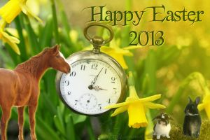 Happy Easter 2013 - Frohe Ostern by Nexu4