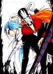 Bleach: Red and Blue by Sideburn004