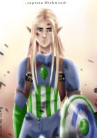 Captain Mirkwood by Rina-from-Shire