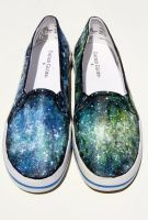Galaxy Shoes 1 by LovelyAngie