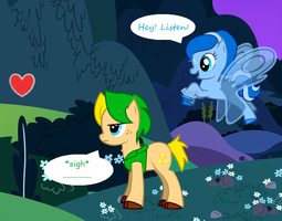 Link and Navi - My Little Pony by Kaia-kun