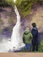 At Reichenbach Falls by auzzeh