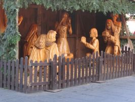 The Scene with the three Magi by AudeS
