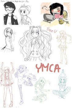 Dump of sketches by miqmi