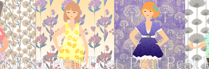 pattern girls by ThePurpleCat