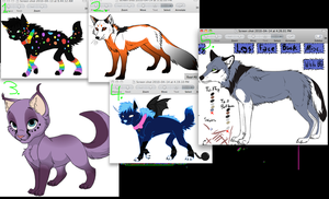 lots to adopt -all sold- by tigercat51