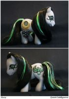 2006 - Horus Egyptian Pony by Cuddlyparrot