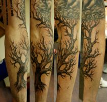 Freehand tree by strangeris