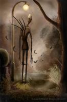 Slenderman by Ludjia