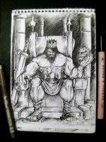 the mad king sketch vol.01 by rehAlone