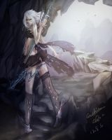 League of Legends..Ashe...sorry~ by Vokizoey