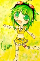 Gumi Chibi by MikaLinCow