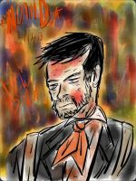 Booker DeWitt - Nothing Ventured, Nothing Gained. by ENDYS-ART-HELL