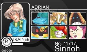 IPL Trainer Card: Adrian by Oatley