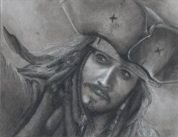 Captain Jack Sparrow - Commission by MissingMyMind