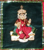 India inspired wall hanging - Detail 8 by RevelloDrive1630