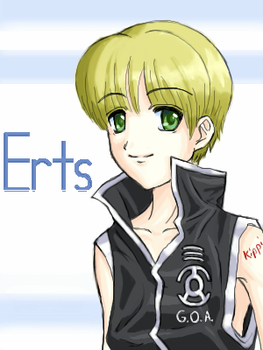 Erts - colored by Kippi
