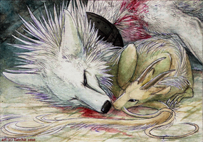 ACEO lux aeterna by Tatchit