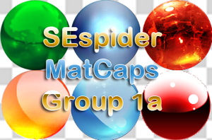 60 MatCaps - 1a by SEspider