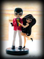 Figure Lupin and Margot by BrucaliffoBijoux