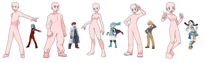 5 Pokemon trainer bases by DanteDT34