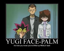 Yugi Face Palm by Alister-Amelda