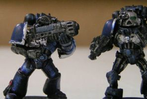 New Marines by Proiteus