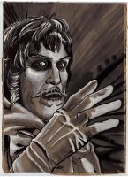 Vincent Price as the ABOMINABLE Dr. Phibes by SergiyKrykun