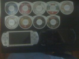 My PSP Game Collection by DestinyDecade