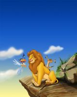 lion king by burch00