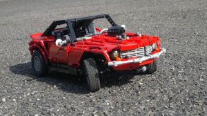 Lego Technic MUSCLECAR by HorcikDesigns