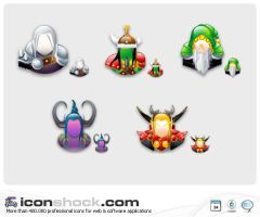 World of Warcraft Web Icons by Iconshock