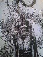 poision ivy and batman by artkid01
