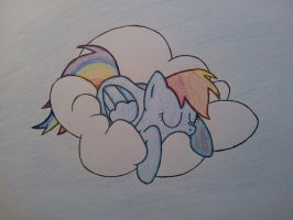 MLP - RD Cloud Lounging by MesophaneGryyn