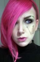 Vi League of Legends Cosplay Makeup Test by SailorMappy