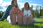 Crystal and Brittani soles compare by lowerrider