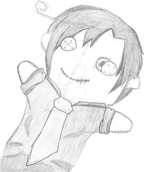(Horror?) Romano Plushie~ by Itsmeh98