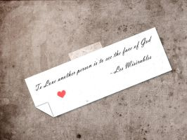 Les Miserables Quote by Darkheart0223