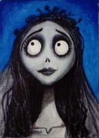 Corpse Bride - ACEO by mikegee777