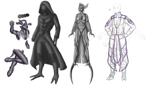 WIP: Concept Arts by Night-Shadey