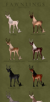 Fawnling Designs - Batch 1 by Ehetere