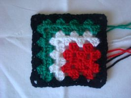 Mitered Granny Square by gatchacaz
