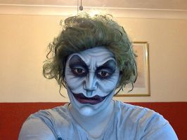 Joker Face Paint Cardiff ComicCon 2014 by 2034220p4rd1