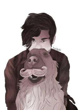 Mark and Chica  by shaked1234