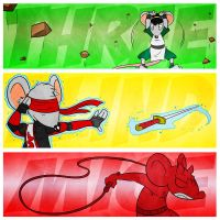 The Three Blind Mice by ryanhuertas