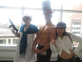 Anime Boston: Granmano, Smexy layton and company~ by XEPICTACOSx