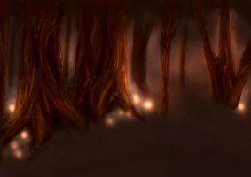 The haunted Forest by Lodchen