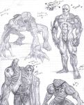 Resident Evil Monsters by MiniMouw