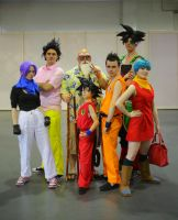 Dragonball Cosplay group UK - Hyper Japan by KatMaz